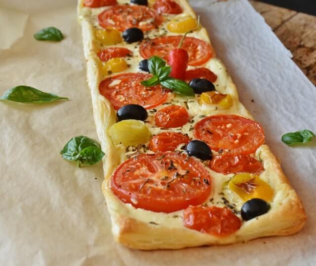 pizza quiche recette